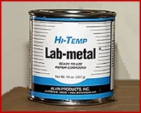 Hi-Temp. Lab Metal 14 OZ. Can
