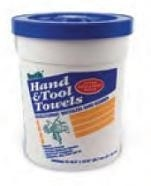 Bostik Hand & Tool Towels 72 Count Bucket