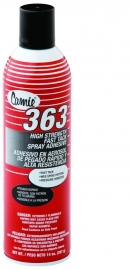 Camie 363 High Strength Fast Tack Web Aerosol Adhesive 14 OZ. Can