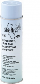 Shelby 290 Headliner, Trim and Laminating Aerosol Adhesive 13 OZ. Can