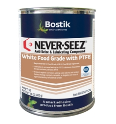 White Food Grade with PTFE Anti Seize